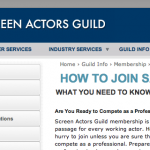 What's the fastest way to get into SAG-AFTRA? | Acting Answers