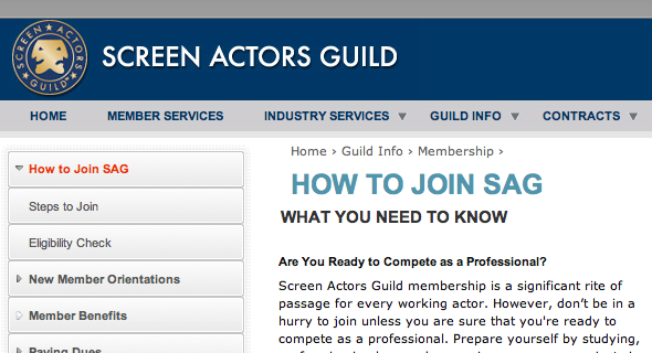 Whats The Fastest Way To Get Into Sag Aftra Acting Answers